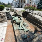 Grave sculptures. Chimitero Monumental in Milan