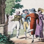 Dancing mania, also sometimes known as St. Vitus' dance, was first recorded in the 7th century and reappeared many times across Europe until about the 17th century.