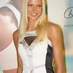 Darya Klishina long jumper and model
