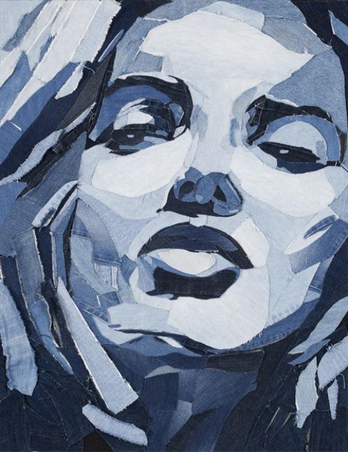 Ian Berry blue denim masterpieces