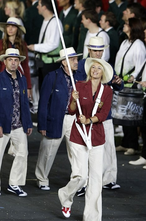 During the Opening Ceremony of the London 2012 Olympic Games, London, Britain, 27 July 2012