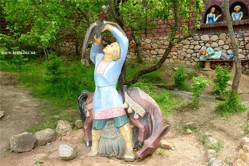 Field of Fairy Tales by sculptor Pavel Bezrukov, Crimea