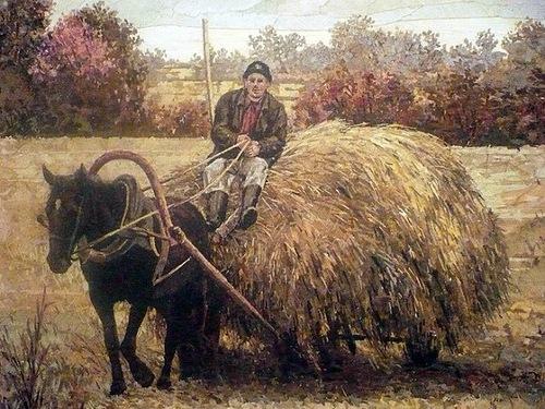 Floral Mosaic by Russian artist Alexander Yurkov
