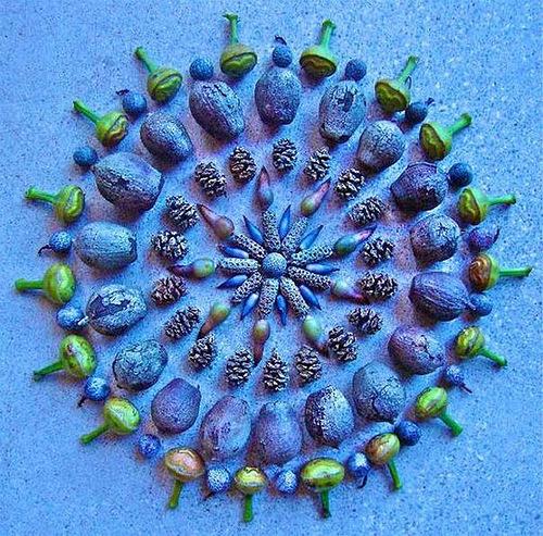 Nature inspired mandala