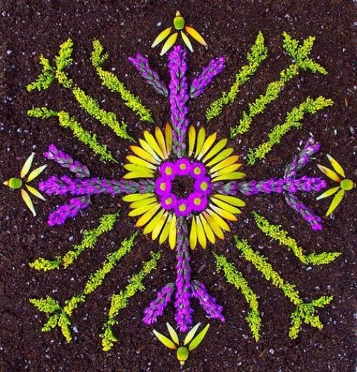 Creative Flower mandala