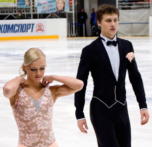 Russian figure skater Katarina Gerboldt