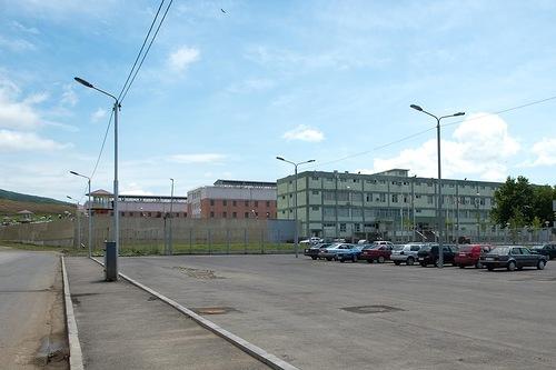 Gldani prison in Tbilisi Georgia