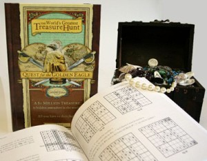 Golden eagle - world's most exclusive treasure
