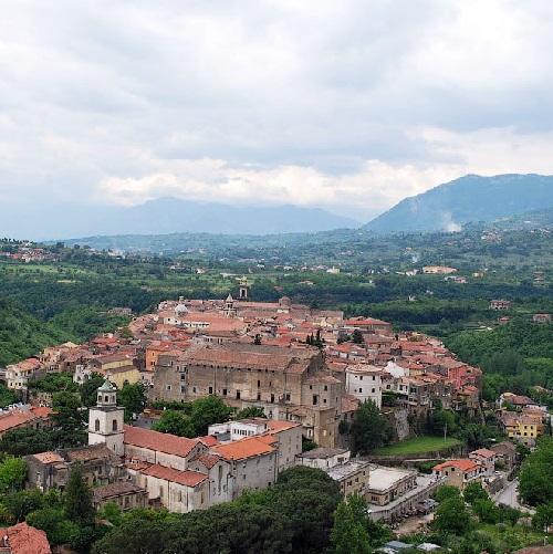 Ancient Gothic town Sant'Agata-de'Goti, Italy
