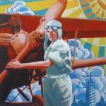 Mosaic painting by Ukrainian artist Anatoliy Gankevich