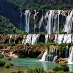 Gorgeous Jiuzhaigou Nine Village Valley waterfalls