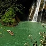 Impressive Nine Village Valley waterfalls