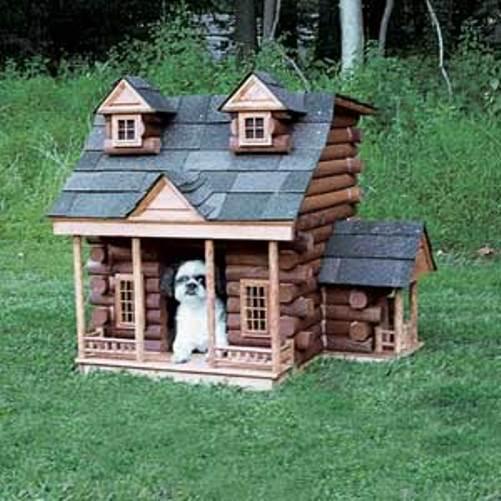 Village style dog house