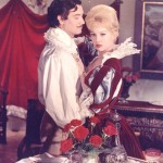 Mylene Demongeot as Milady De Winter and Gerard Barray, in 'Three Musketeers'