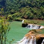 Natural reserve, Nine Village Valley waterfalls
