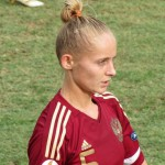 Olga Petrova, the most beautiful Russian football player
