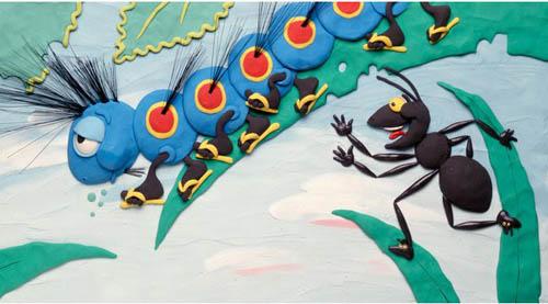 Effie. Plasticine illustrations by Canadian artist Barbara Reid