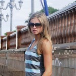 Russian sprint athlete Kseniya Ryzhova (Vdovina)