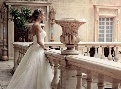 Kseniya Ryzhova (Vdovina) on her wedding day