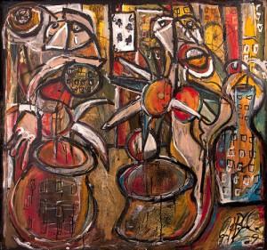 Saint Vitus dance by Picasso