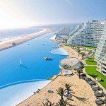San Alfonso del Mar private resort with the biggest pool