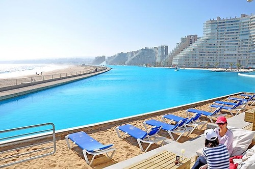 San Alfonso del Mar private resort with the biggest pool in the world