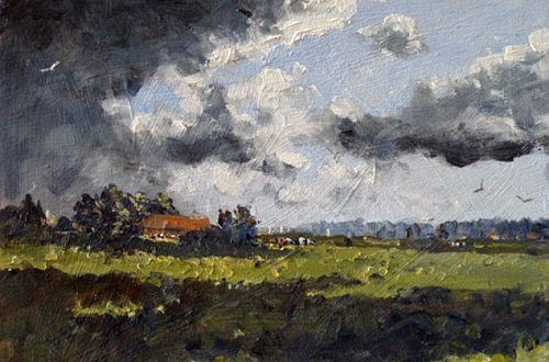 Strong endorsement. A senior figure at the Royal Institute of Oil Painters described Kieron as the future of oil painting in the UK