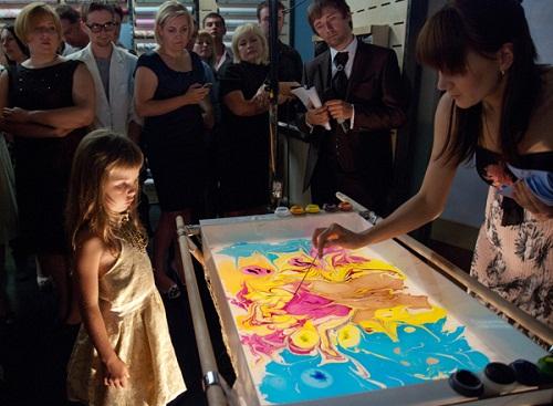 Suminagashi Painting - the art of floating ink