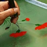 Suminagashi Painting - the art of floating ink