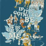 If it is going to be than it is up to me. Illustration by American artist Teagan White
