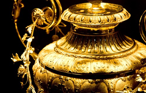 The Imperial Treasury at the Hofburg Palace in Vienna, Austria