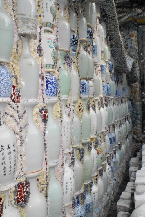 Unique porcelain house in Tianjin, China
