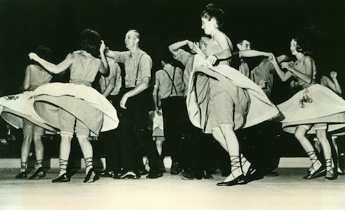 The Stroll dance - one of the most popular dances of the 50s