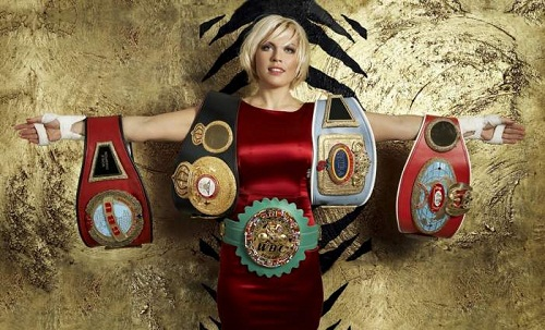 The other super-middleweight belts are from six other boxing sanctioning organizations. Natalia Ragozina