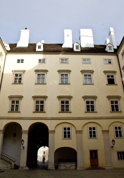 Treasury of the Hofburg Palace, building