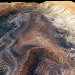 Mariner Valleys the biggest canyon in the Solar System