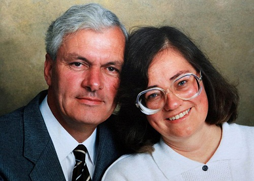 Winston Howes and Janet Howes happily married for 33 years