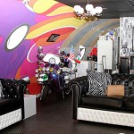 Interior design in the Yellow Submarine hotel