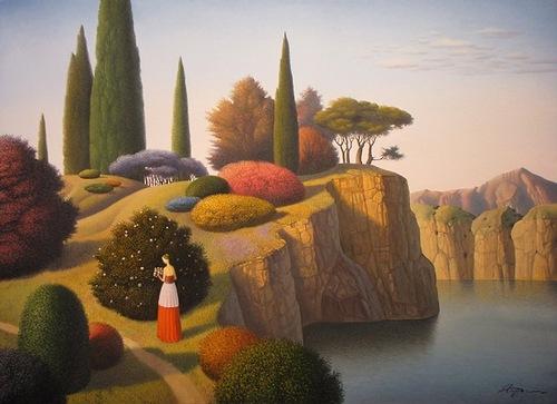 Painting by Ukrainian artist Evgeni Gordiets