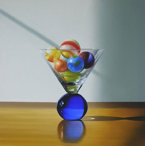 Michael Zigmonds hyperrealistic paintings