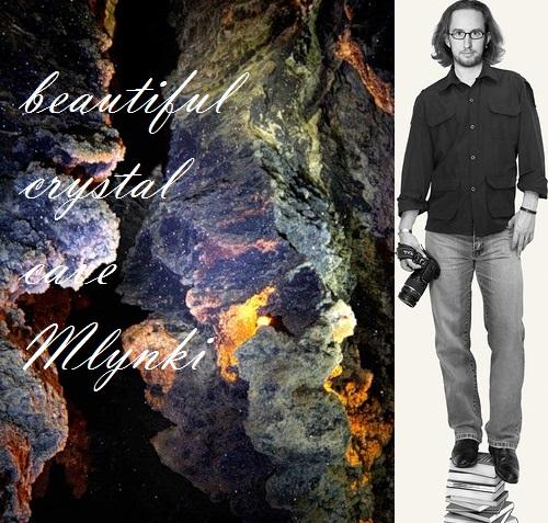 World most beautiful crystal cave Mlynki, Ternopol region, Ukraine. Photographer Oleg Grigorev