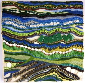 Verdant. Richard Prestons textile art