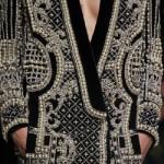 Balmain jacket. Faberge renaissance