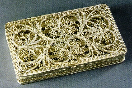 Russian Filigree Art - the art of the Millennium