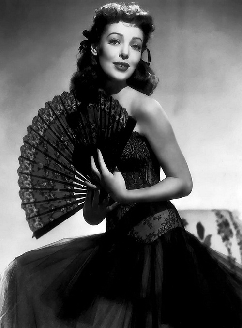 Elegance and splendor of Loretta Young