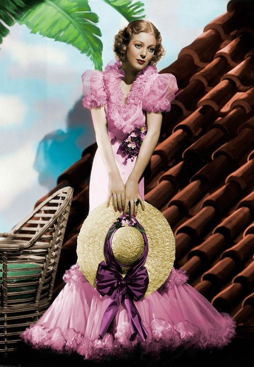 Elegance and splendor of Loretta Young