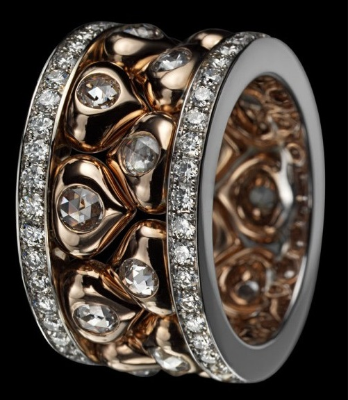 Unique Russian art and architecture in beautiful jewelry of Alena Gorchakova