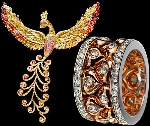 Jewelry Collection Russian Seasons by Alena Gorchakova