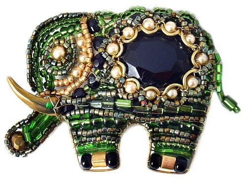 Decorative jewelry by Olga Yakubovich