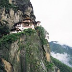 Nest of Tigress monastery in Bhutan